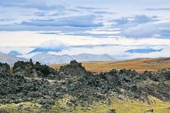Vulkanische lava Royalty-vrije Stock Foto