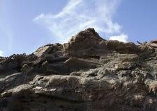 Vulkanische Rots Royalty-vrije Stock Fotografie