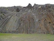 Vulkanische rots op Porto Santo stock afbeeldingen
