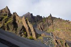 Vulkanische rotsen Stock Afbeeldingen