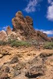 Vulkanische rotsen Royalty-vrije Stock Foto