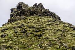 Vulkanische rotsvormingen Royalty-vrije Stock Foto's