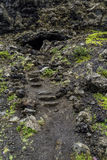 Vulkanische rotsvormingen Royalty-vrije Stock Fotografie
