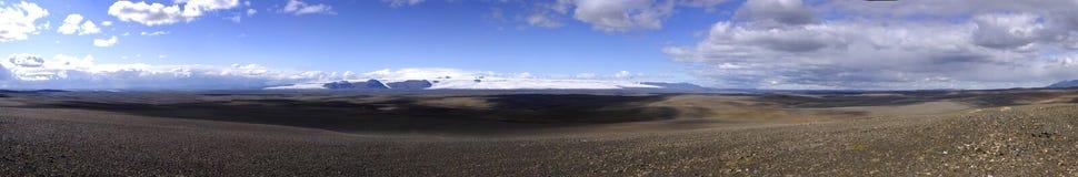 Vulkanische Wüstenlandschaft Stockbild