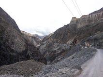 Vulkanische weg Royalty-vrije Stock Foto