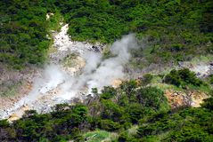 Vulkanische Zone Lizenzfreie Stockfotografie