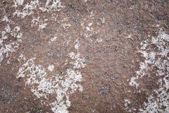 Vulkanischer dunkler Hintergrund, Steine, Boden stockfotografie