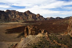 Vulkanischer Felsen Lizenzfreies Stockfoto