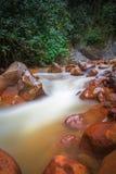 Vulkanischer Fluss Cajon Lizenzfreie Stockbilder