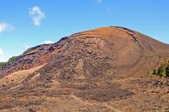 Vulkanischer Kegel in Hawaii stockfoto