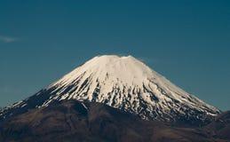 Vulkanischer Mt Tongariro Lizenzfreie Stockfotos