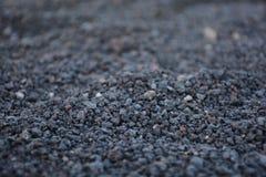 Vulkanischer Sand Stockfoto
