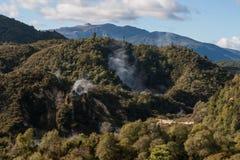 Vulkanisches Tal Waimangu Lizenzfreie Stockfotos