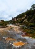Vulkanisches Tal Waimangu, Neuseeland Lizenzfreie Stockfotografie