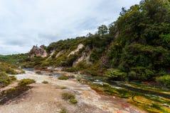 Vulkanisches Tal Waimangu, Neuseeland Lizenzfreies Stockfoto