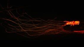 Vulkanisches verheerendes Feuer stockfoto