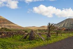 vulkanisk ö Royaltyfria Foton