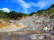 vulkanisk aktivitet royaltyfri foto