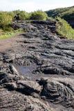 vulkanisk iceland liggande arkivfoton