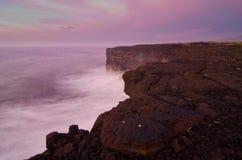 vulkanisk klippa Royaltyfri Bild