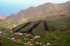 Vulkanisk kotte Arkivbild