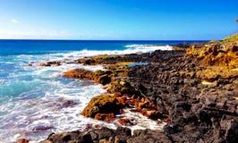 Vulkanisk kust Royaltyfri Foto