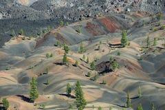 vulkanisk lassen nationalpark Royaltyfria Foton