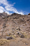 vulkanisk lava royaltyfria foton