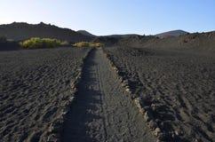 Vulkanisk liggande Royaltyfria Foton