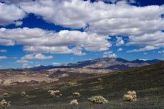 vulkanisk liggande Arkivfoto