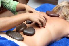vulkanisk massagespecialsten Arkivfoton