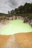 vulkanisk mineralisk pöl Fotografering för Bildbyråer