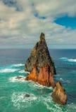 Vulkanisk rev Fotografering för Bildbyråer