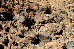 vulkanisk rock Royaltyfri Bild