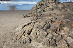 vulkanisk rock Royaltyfri Fotografi