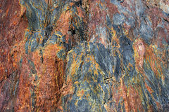 vulkanisk rocktextur Royaltyfri Bild