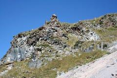 Vulkanisk utbildning - vaggar Royaltyfri Fotografi
