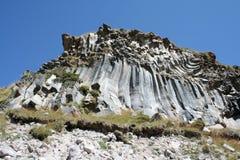 Vulkanisk utbildning - vaggar Arkivfoto