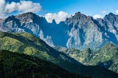 Vulkaniska berg av madeiraön Royaltyfri Bild