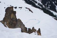 Vulkaniska bildande royaltyfria bilder