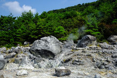 Vulkaniska Hot Springs Fotografering för Bildbyråer