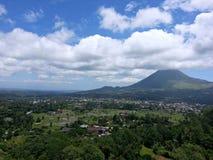 vulkaniskt berg fotografering för bildbyråer
