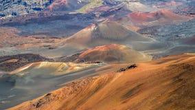 Vulkaniskt landskap royaltyfri bild