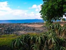 vulkaniskt område Arkivbild