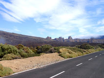 vulkaniskt område Royaltyfri Bild