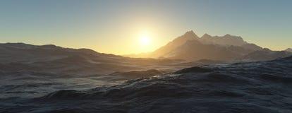 vulkaniskt planet Arkivfoton