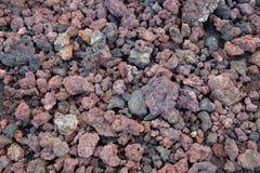 Vulkaniskt vaggar i Island royaltyfri fotografi