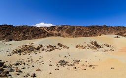Vulkanlandschaft Stockfotografie