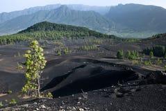 Vulkanlandschaft stockfotos