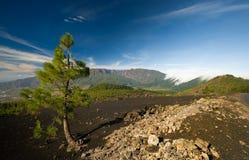 Vulkanlandschaft lizenzfreies stockbild